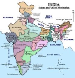 mapa_india