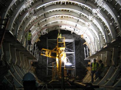 Dmrc se hace cargo del proyecto del metro de jaipur blog for Construction de tunnel