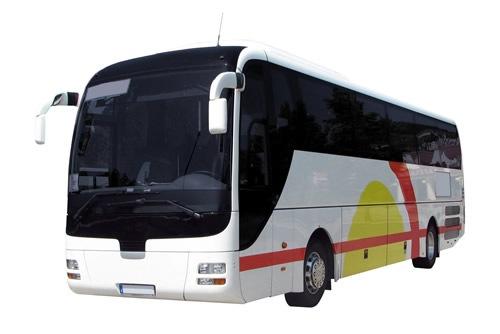 En los autobuses de circuito interior df 6