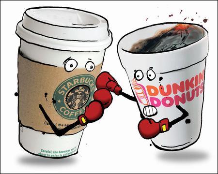 dunkin donuts vs starbucks essay