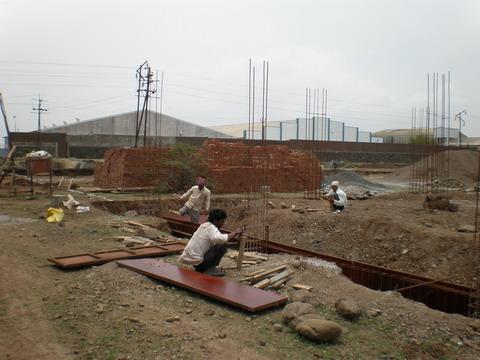 Construcción planta Bellota en Nashik (India)