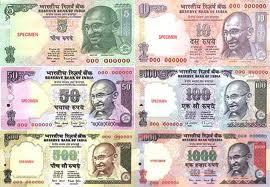 rupias, inflación, India
