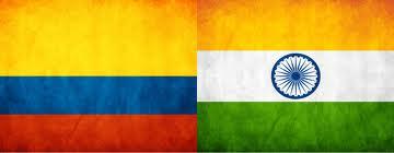 India, Colombia, comercio