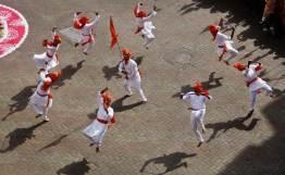india, gudi padwa, año nuevo, hindú, celebracion, bombay