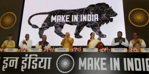 Launch of Make in India mission
