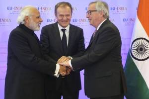 narendra modi in brussels EU india