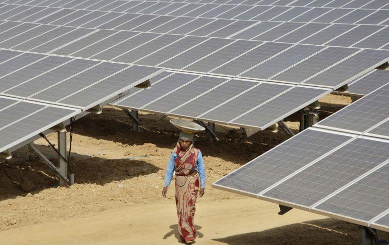energía solar india