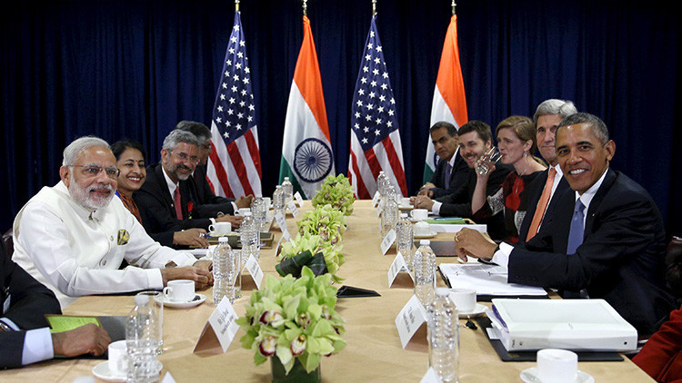 EE.UU. - India
