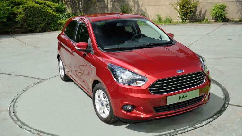 Ford ka plus india